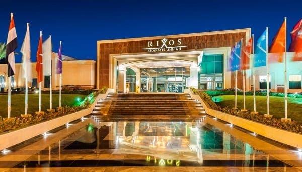 отель Rixos в Египте